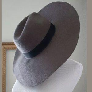 Women's NEW Gray Boho Floppy Hat, Size: OS